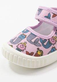Walnut - CLASSIC - Ankle strap ballet pumps - pink - 2