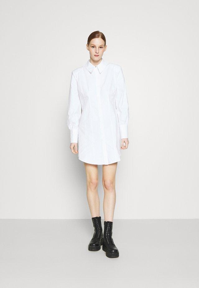 Abito a camicia - white