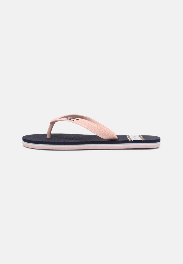BAY BEACH WOMAN - T-bar sandals - navy