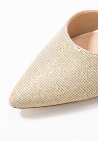Anna Field - LEATHER - Classic heels - beige - 2