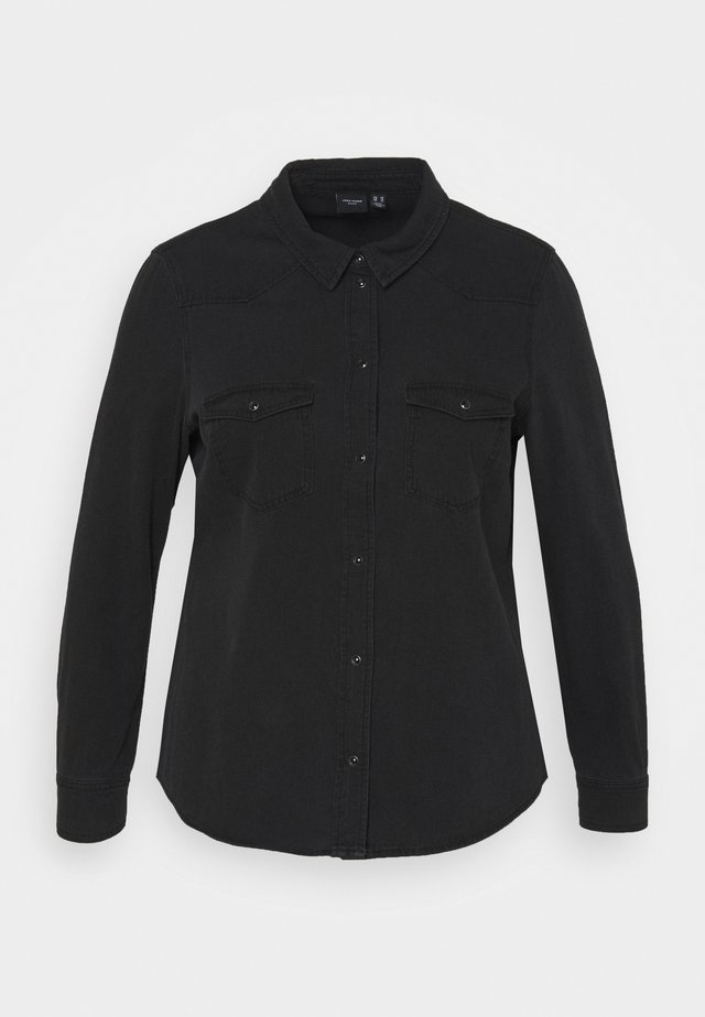VMMARIA SLIM - Overhemdblouse - black