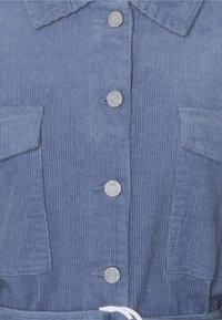 Missguided - BELTED BUTTON UP JACKET  - Short coat - blue - 2