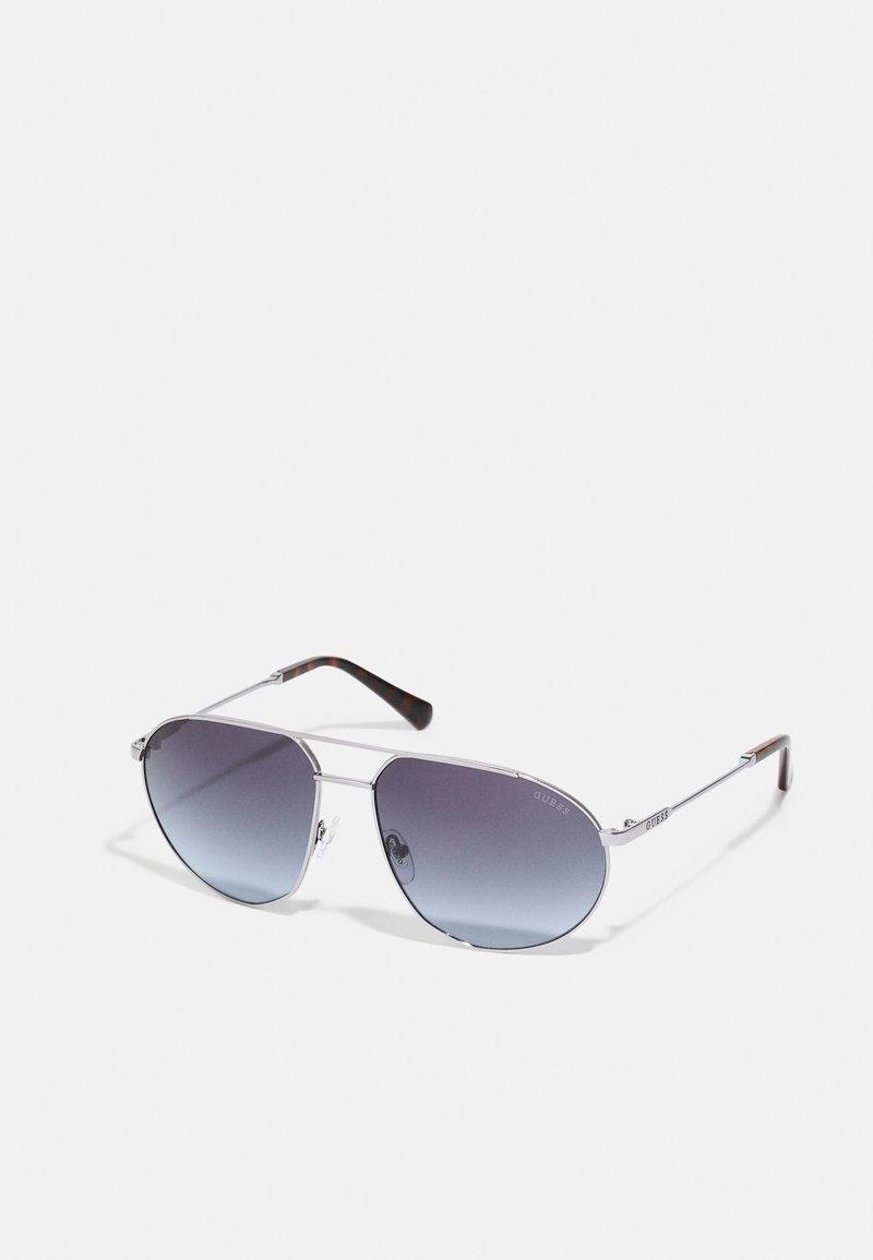 Guess - UNISEX - Sunglasses - shiny gunmetal/smoke