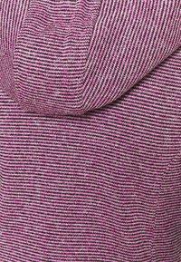 CMP - WOMAN JACKET FIX HOOD - Fleece jacket - purple fluo/antracite - 2