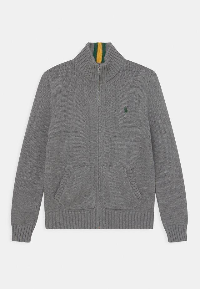 MOCK - Kardigan - fawn grey heather