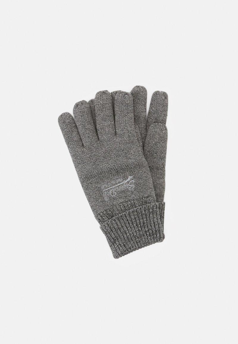 Superdry - ORANGE LABEL - Gloves - storm cloud/grey grit