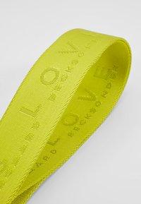 Becksöndergaard - BECKI LOGO STRAP - Overige accessoires - neon green - 3