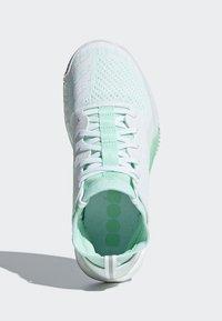 adidas Performance - CRAZYTRAIN ELITE - Treningssko - white, turquoise - 1