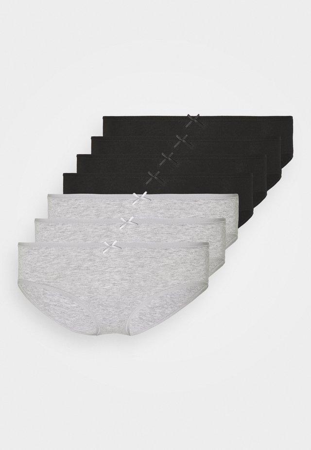 7 PACK - Briefs - grey/black