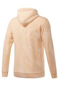 Reebok Classic - CLASSIC TIE DYE SEASONAL CASUAL HOODIE - Sweatshirt - aura orange - 4