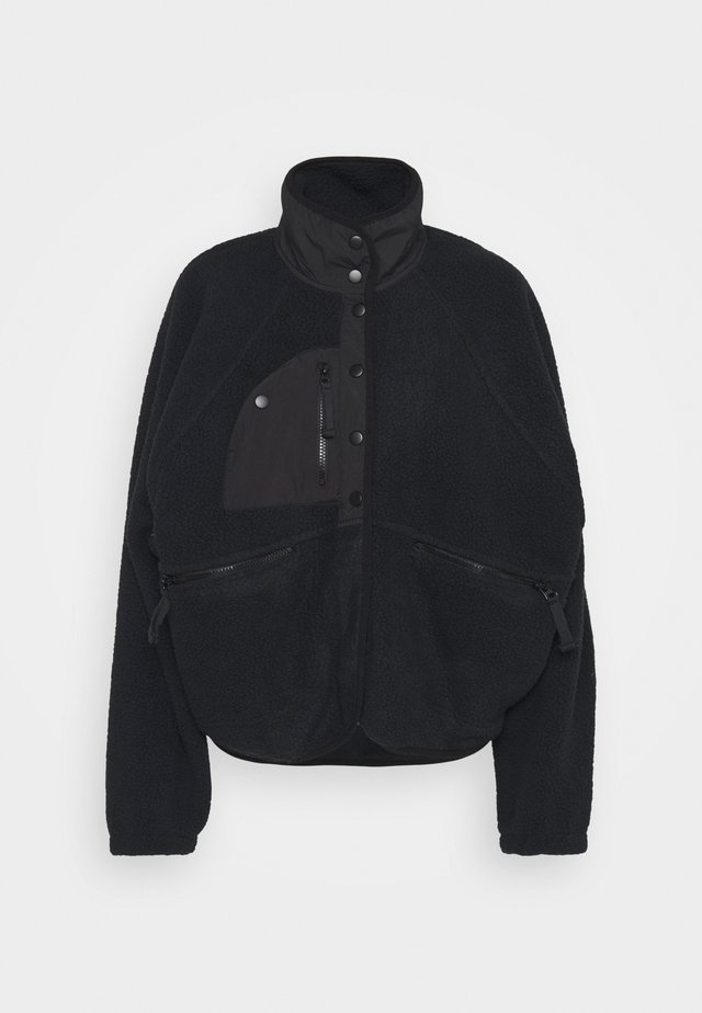 HIT THE SLOPES JACKET - Fleecejas - black