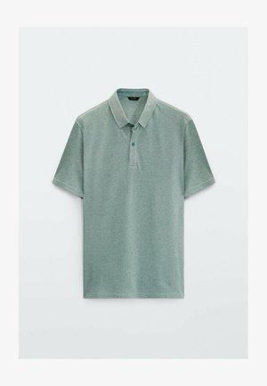 KURZÄRMELIGES OXFORD - Polo shirt - green