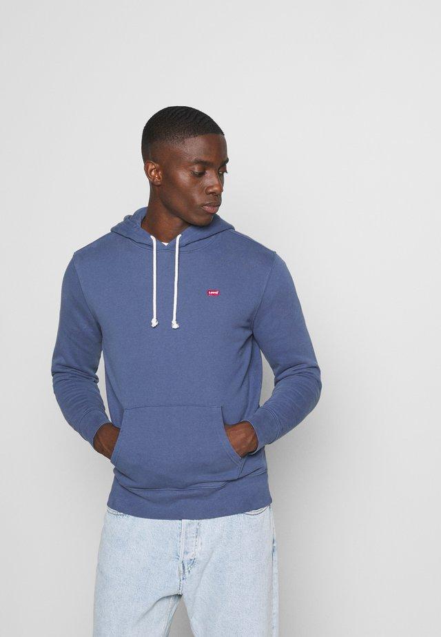 NEW ORIGINAL HOODIE - Bluza z kapturem - blue indigo
