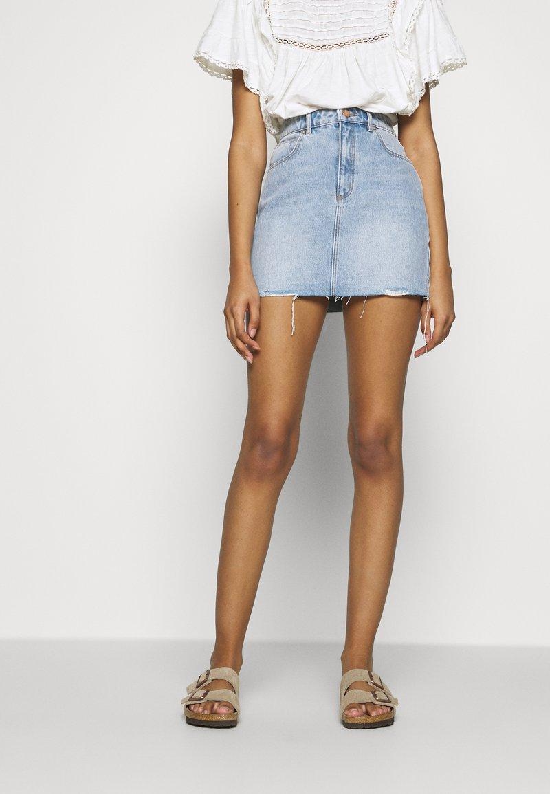 Abrand Jeans - SKIRT - Mini skirt - florence
