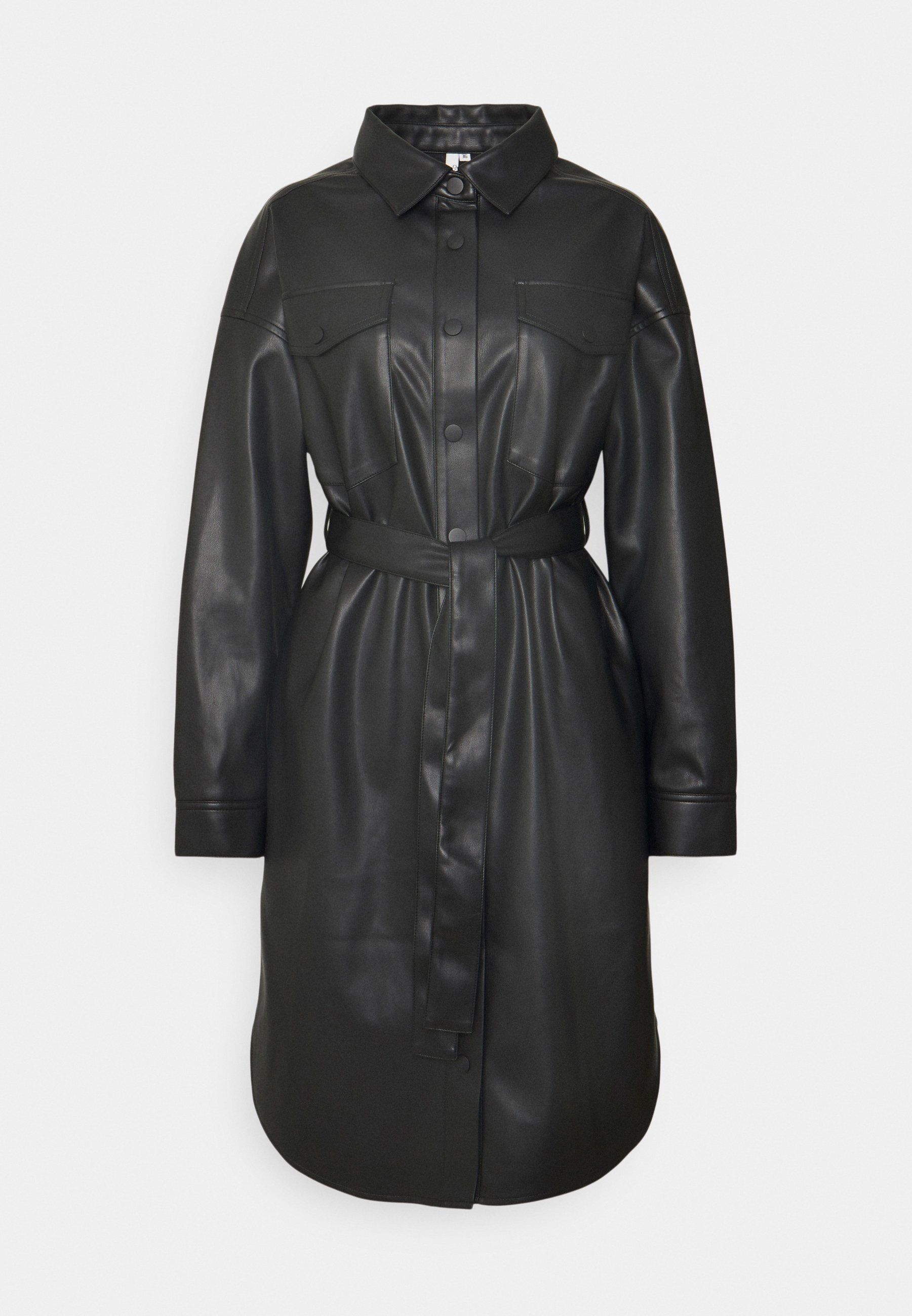 Donna LONG PU SHACKET - Cappotto corto
