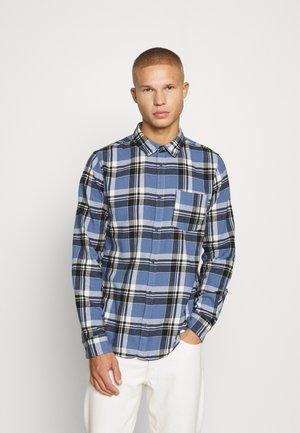 Camicia - indigo black/white check