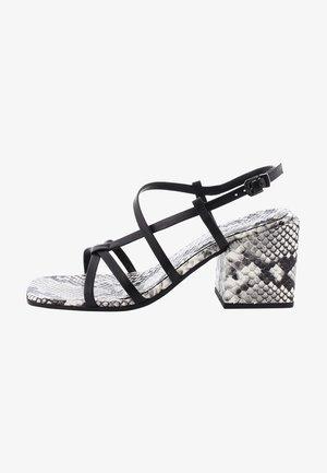 CALI - High heeled sandals - schwarz