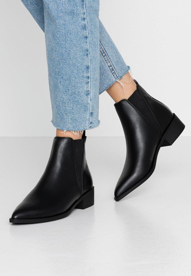 Topshop - KARA CHELSEA - Ankle boots - black