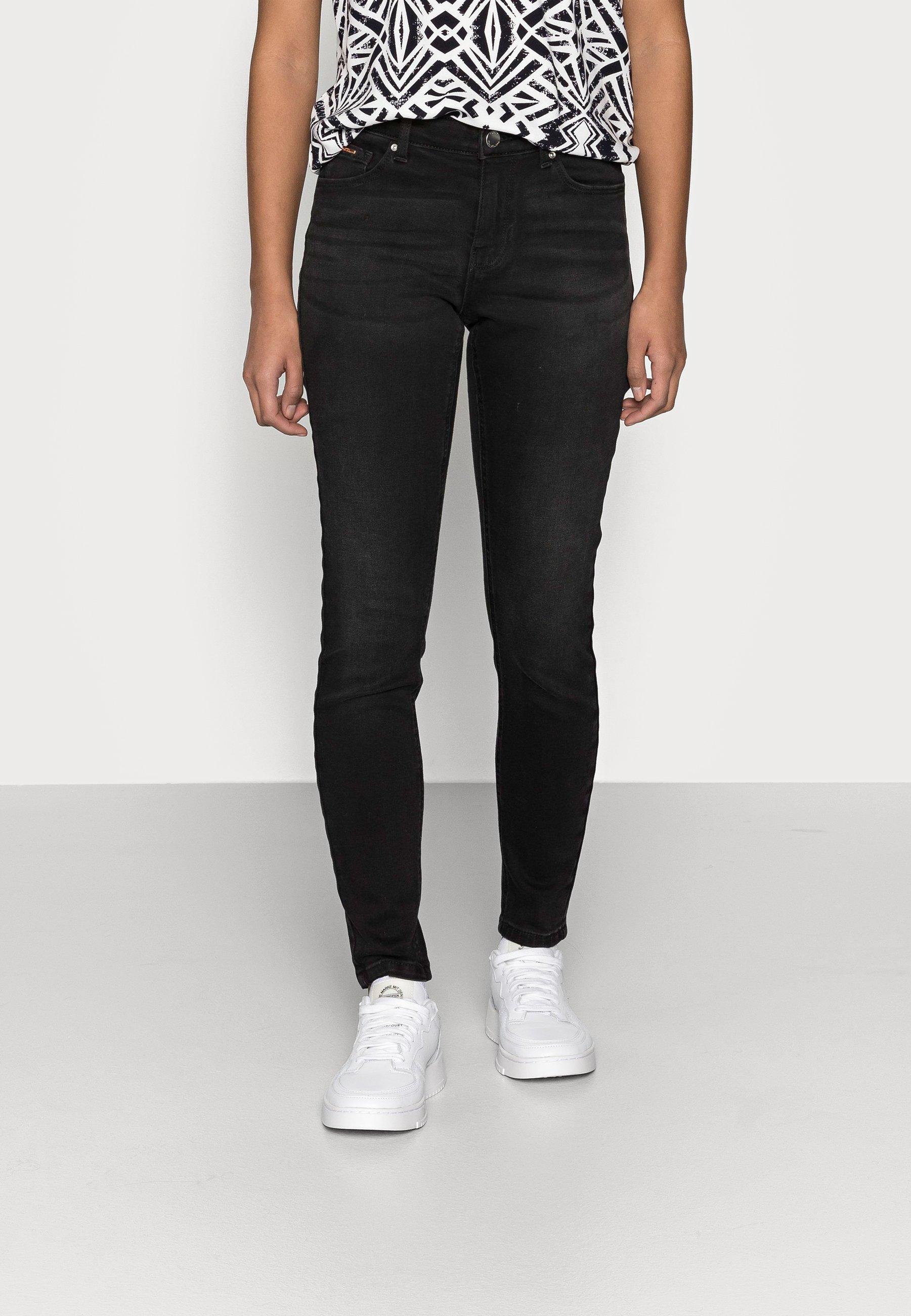 Femme ONLFCARMEN DECO STITCH - Jeans Skinny