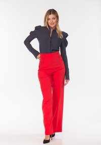 Diyas London - CHERRY - Trousers - red - 1