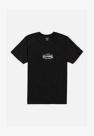 SUPPLY WAVE  - Print T-shirt - black