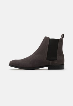 LEATHER - Bottines - grey