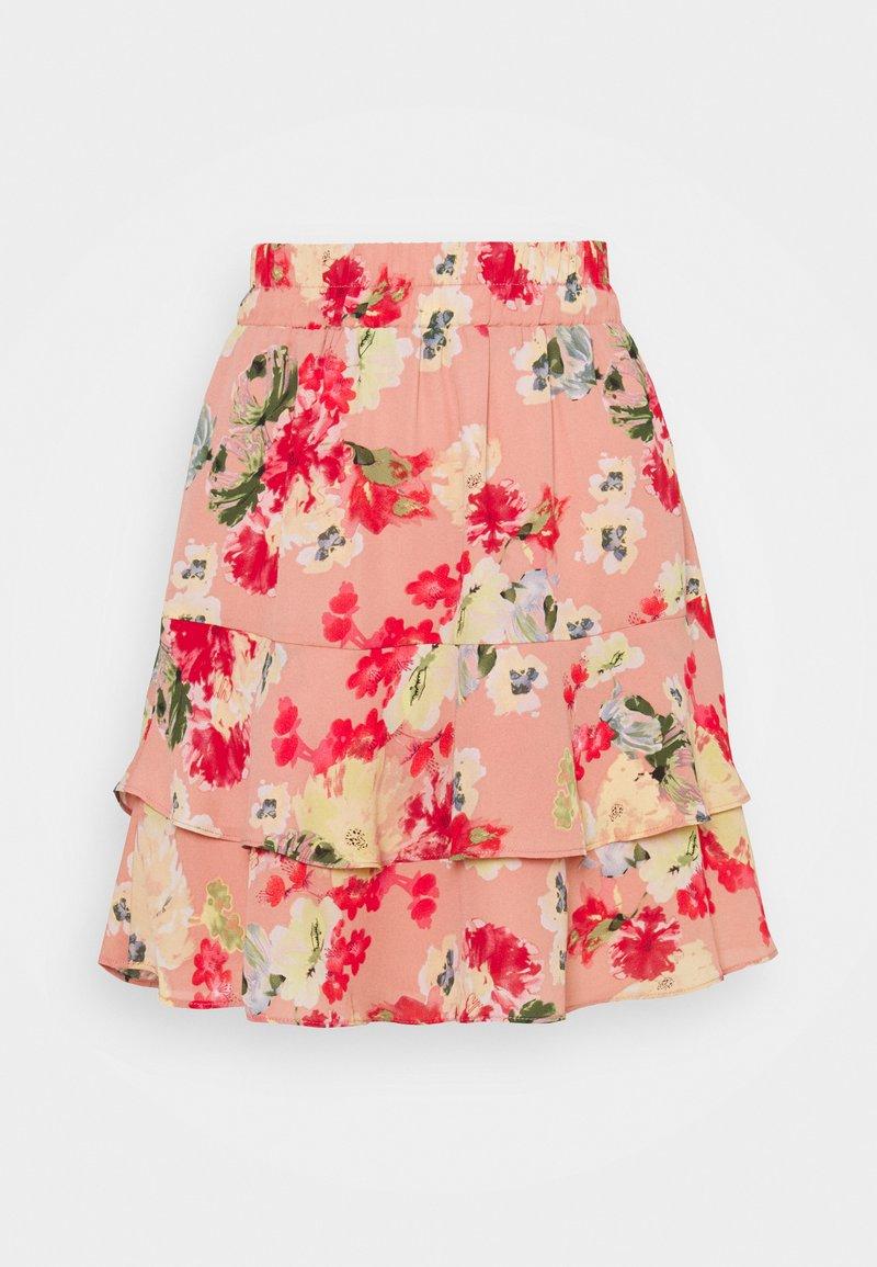 VILA PETITE - VILUCA SHORT SKIRT PETITE - Mini skirt - old rose