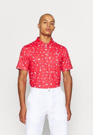 CLOUDSPUN - Poloshirt - teaberry/bright white