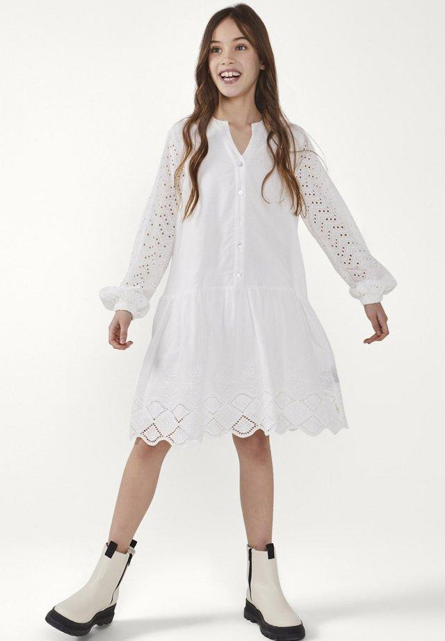 CYLIAN CO - Shirt dress - wit
