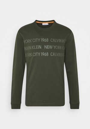 LONG SLEEVE - Sweatshirt - green