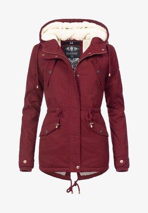 MANOLYA - Winter coat - bordeaux