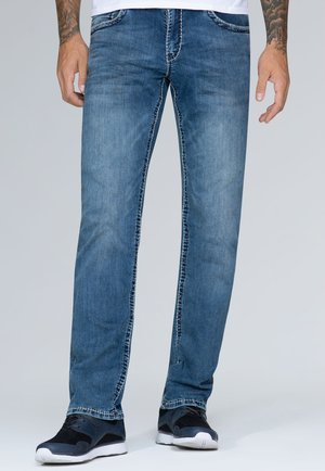 Relaxed fit jeans - dirty denim