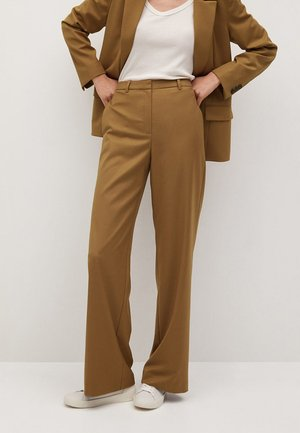 BORI - Trousers - medium brown