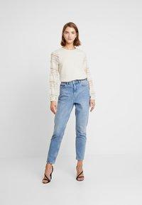 ONLY - ONLCLOVER - Sweatshirt - pumice stone - 1