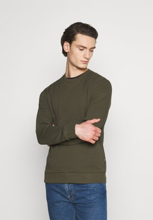 ONSCERES LIFE CREW NECK - Felpa - olive night