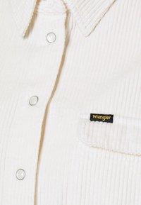 Wrangler - WINTER - Button-down blouse - whisper white - 2