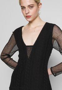 Stevie May - GALLERY MINI DRESS - Denní šaty - black - 3