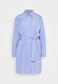 Liu Jo Jeans - ABITO CAMICIA STRIPES - Shirt dress - blue wave - 5