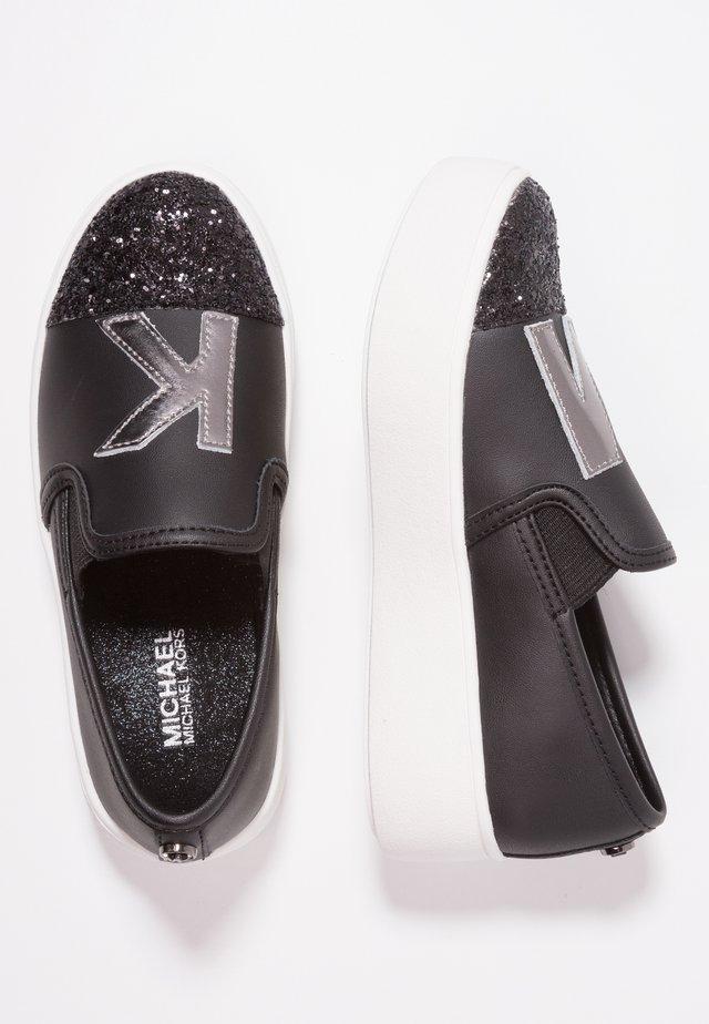 ZIA-MAVEN SWITCH - Scarpe senza lacci - black