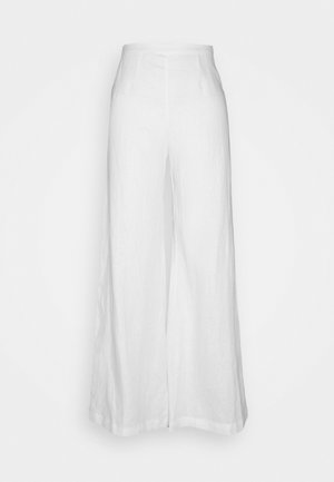 SIBYL PANTS - Trousers - white