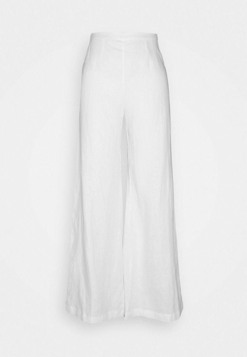 Faithfull the brand - SIBYL PANTS - Kalhoty - white