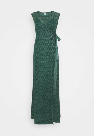 SLEEVELESS LONGDRESS - Iltapuku - forest green