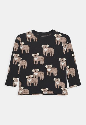 MINI KOALA UNISEX - Long sleeved top - off black