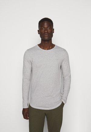 CHARLES - Camiseta de manga larga - silver