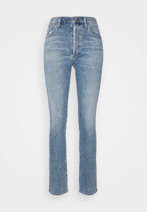 OLIVIA - Slim fit jeans - light blue