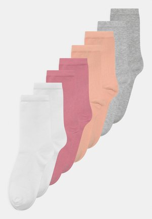 NKFFOLI 8 PACK - Socks - light grey melange