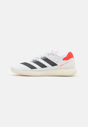 ADIZERO FASTCOURT 2.0  - Handbalschoenen - footwear white/core black/solar red