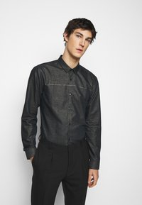 HUGO - ERO EXTRA SLIM FIT - Shirt - black - 0