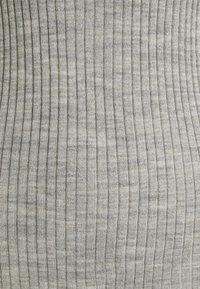 Selected Femme Tall - SLFCOSTINA ROLLNECK - Jumper - light grey melange - 2