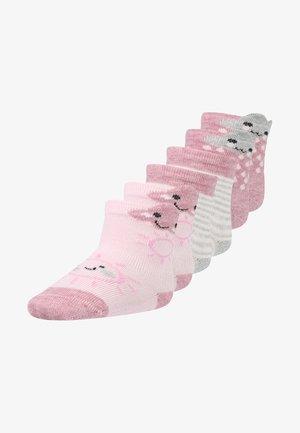 CLOUDE 6 PACK - Socks - chalk pink melange